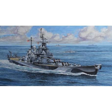 U.S.S MISSOURI WWII 1/1200