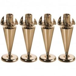 Speaker spike goud /4 stuks