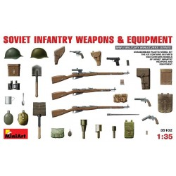 SOVIET INFANTRY WEAPONS 1/35