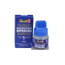 Plastic lijm met kwastje Contacta liquid special 30gr.