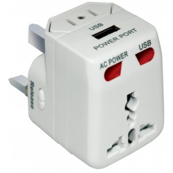 travel adapter 150 landen +USB
