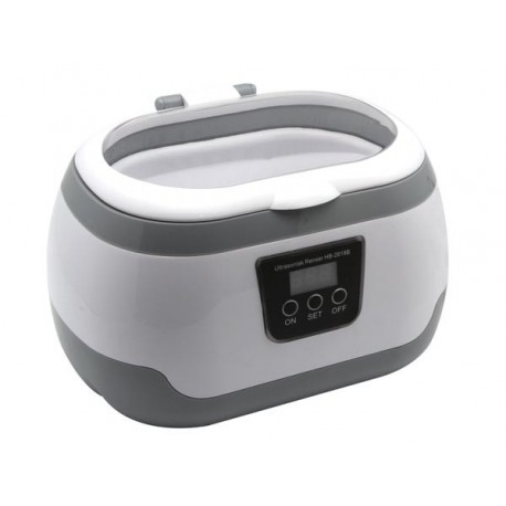 ultrasoon reiniger 0.6ltr timer 1,5-8 minuten