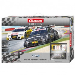 Evolution racebaan startset DTM Turbo Drift 7,3 mtr.