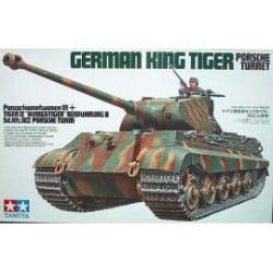 KING TIGER PORSCHE 1/35