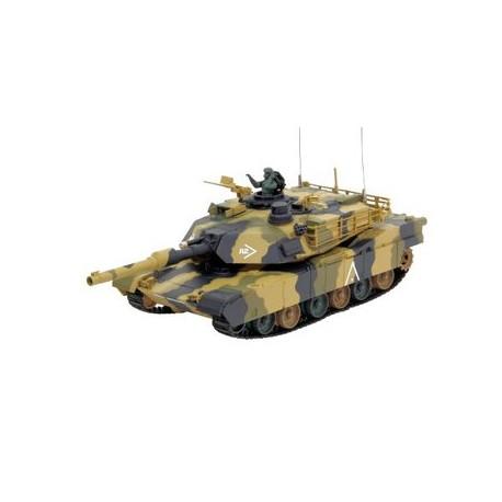 RTR RC Tank M1A2 Abrams met shot-functie tot 25mtr! 1/24
