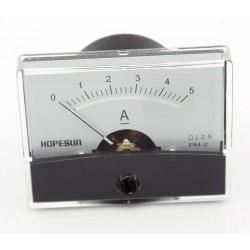 Paneelmeter 0-5A 60x45mm