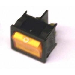 wipschakelaar 2XA/U+lamp 220V10A