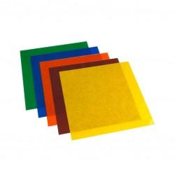 kleurfilters 5st PAR64 25x25cm
