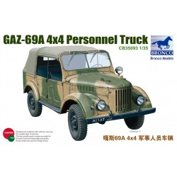 GAZ69A 4X4 PERSONEL TRUCK 1/35