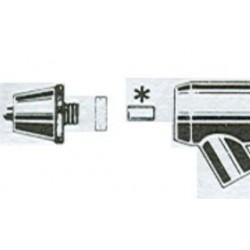 teflon naaldhouder badger 100-150-155-200