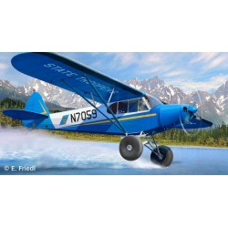 PIPER PA-18 w/BUSHWHEELS 1/32