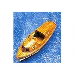 Motorboot 123x35x43mm