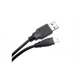 Mini USB 2.0 5-pin kabel 2 meter