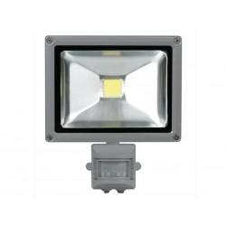 LED 20w buitenlamp met PIR wit