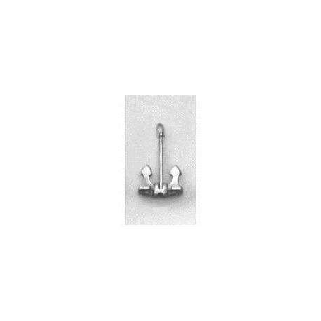 hallanker metaal 21x9 mm p/s