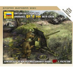 BRITISH ANTI-TANK GUN 1/72