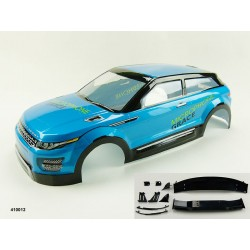 1/10 gespoten en bestickerde body Land Rover Evoque