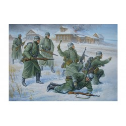 WWII GERMAN WINTER INFANTRY 1/72