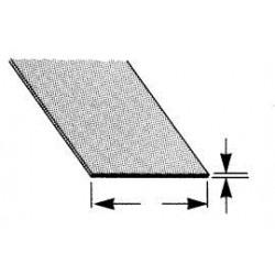 ABS plaat 1,5 mm 18x30.5cm