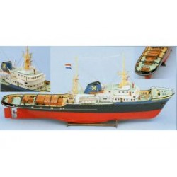 Zeesleper Zwarte Zee incl. beslag en kunstof romp 90cm