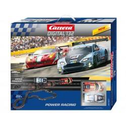 "Digital racebaan startset ""Power Racing"" 9mtr"