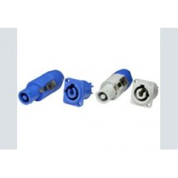powercon a blauw plug