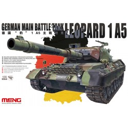 GERMAN MAIN BATTLE TANK LEOPARD 1 A5 1/35