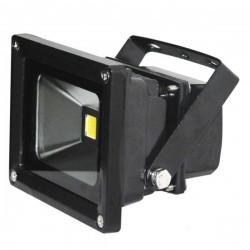 10W LED buitenlamp zwart CW koud wit