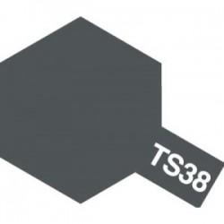 Acryl spuitbus plastics metallic gunmetal TS-38 100ml.