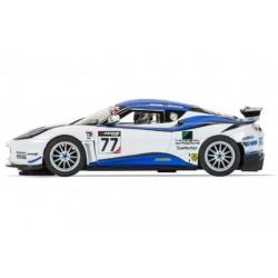 Slotrace auto Lotus Evora GT4 nr77 1/32