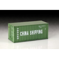 SHIPPING CONTAINER 20 FT. 1/24 L-25CM