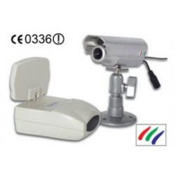 wireless color camera/receiver