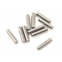 Wheel hex pins 2x10mm 1/12 racers 8st.