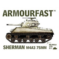 SHERMAN M4A3 75MM 1/72