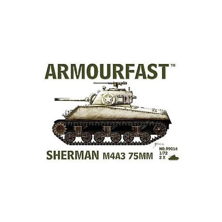 SHERMAN M4A3 75MM 1/72
