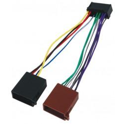 Adapter autoradio voeding ISO