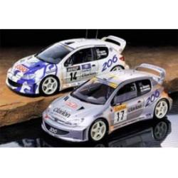 Peugeot 206 WRC 2000 1/24