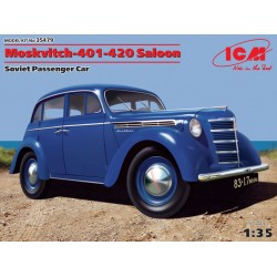 Moskvitch-401-420 Saloon, Soviet Passenger Car 1/35