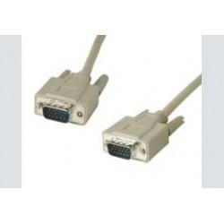 VGA kabel 15p-15p 10 meter