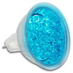 12v reflector ledlamp blauw