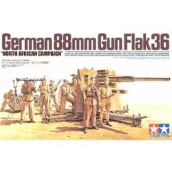 GERMAN 88MM FLAK 36 1/35