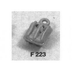 pvc dubbelblok 7mm 50st