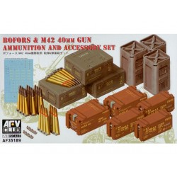 Bofors&M42 40mm gun AMMO.&accessories set 1/35