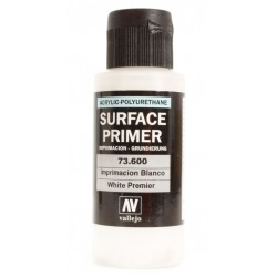 Acrylic surface primer white 60ml