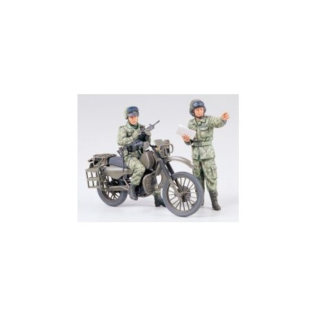 J.G.S.D.F. MOTORCYCLE RECON.SET 1/35