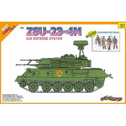 ZSU 23-4M AIR DEFENSE + SOVIET MOTOR TROOPS 1/35