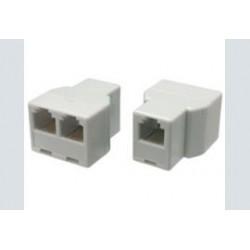 Adapter f-f-f   rj45 8p8c