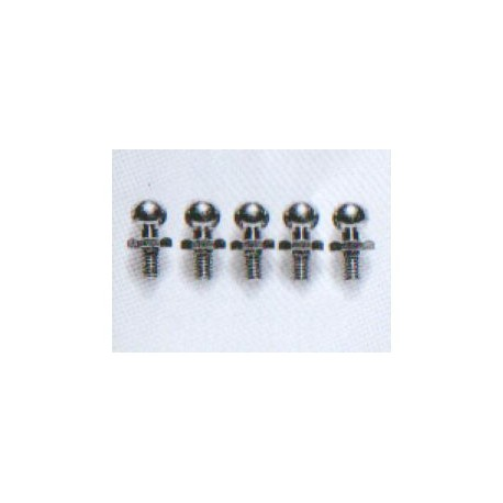 4 mm ball connector 4st.