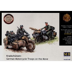 GERMAN MOTORTROOPS ON THE MOVE 1/35