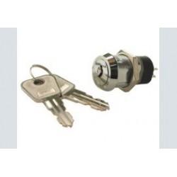 Sleutelschakelaar   uit/aan  gat-19mm